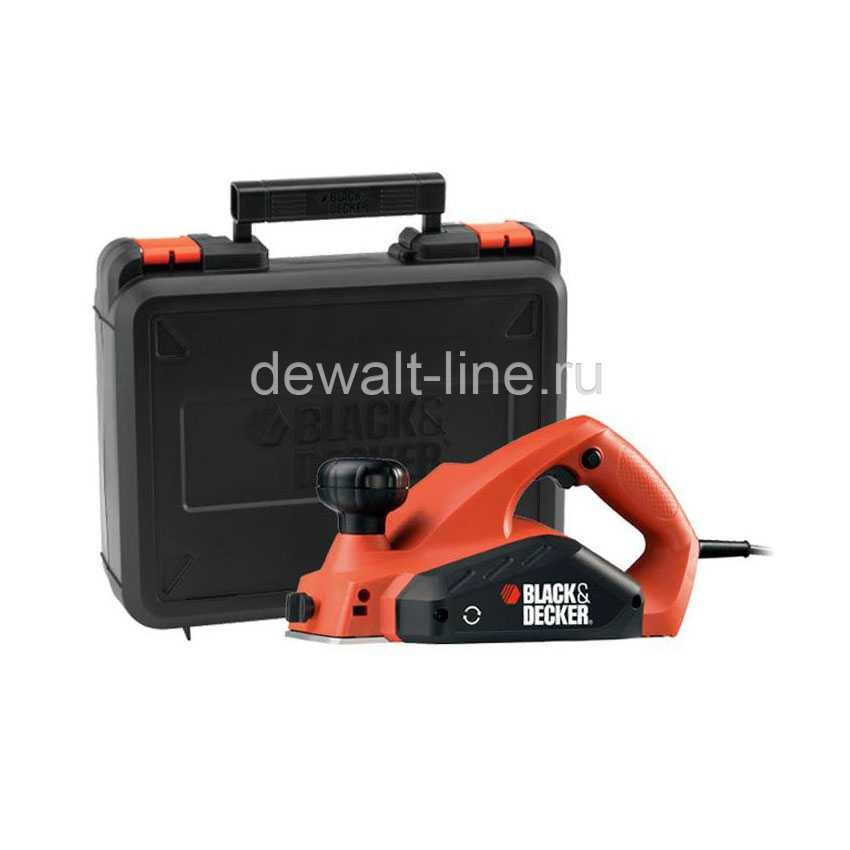 Рубанок Black&Decker KW 712KA