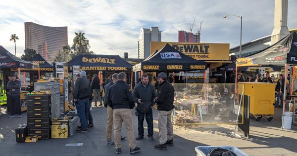 Компания DeWalt на выставке World of Concrete Highlights 2020